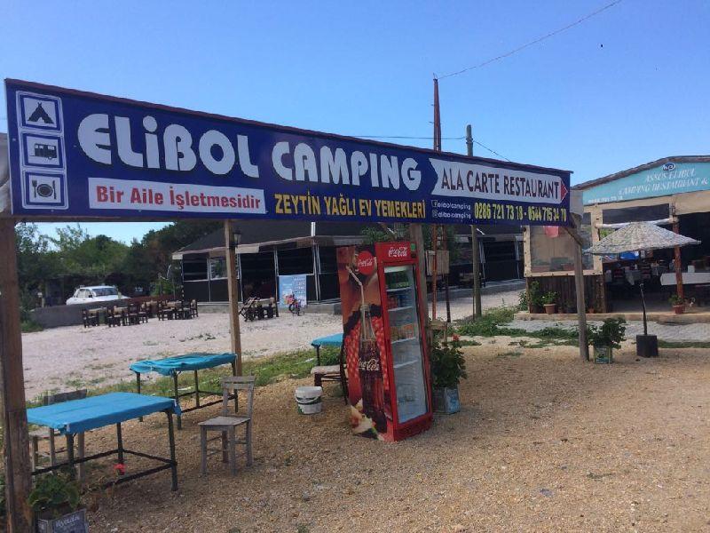 Assos Elibol camping Restaurant